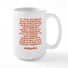 If A Man Accounts Mug