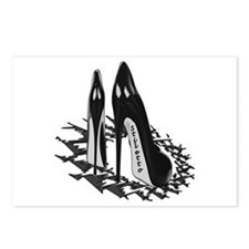 Clasic Black Pumps Postcards (Package of 8)