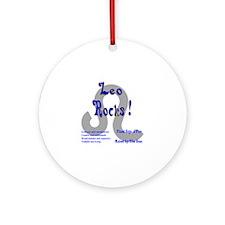 Leo Rocks ! Ornament (Round)