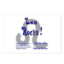Leo Rocks ! Postcards (Package of 8)
