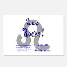Leo Rocks ! Postcards (Package of 8)