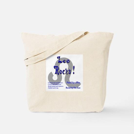 Leo Rocks ! Tote Bag