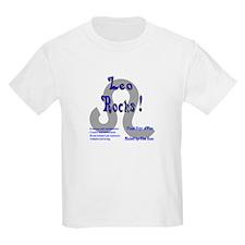 Leo Rocks ! Kids T-Shirt