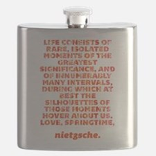 Life Consists Flask