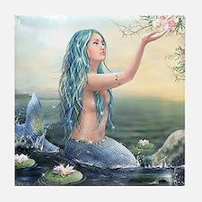Beautiful Mermaid Tile Coaster