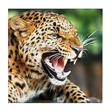 Beautiful Leopard Tile Coaster