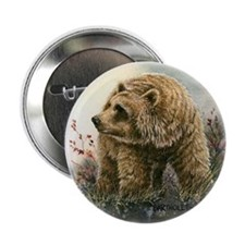 Grizzly I Button