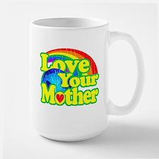 Retro Love Your Mother Mug