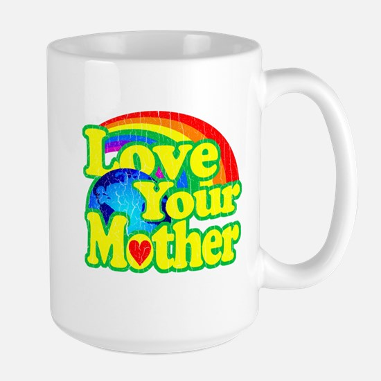 Retro Love Your Mother Mug
