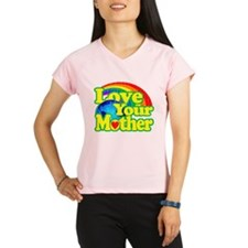 Retro Love Your Mother Peformance Dry T-Shirt