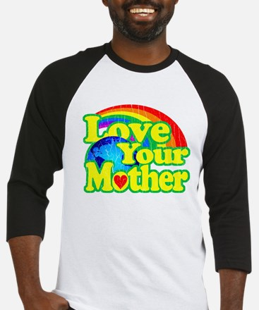 Retro Love Your Mother Baseball Jersey