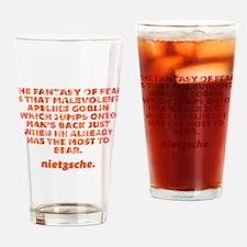 Fantasy Of Fear Drinking Glass