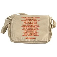 Vanity Of Some People Messenger Bag