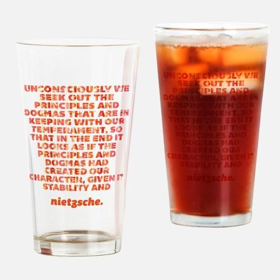 Principles And Dogmas Drinking Glass
