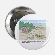 """Snails In A Nudist Camp 2.25"""" Button"""
