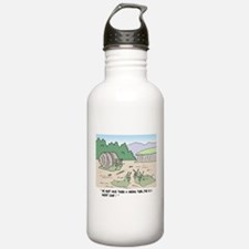 Snails In A Nudist Camp Water Bottle