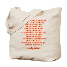 Unqualified Congeniality Tote Bag