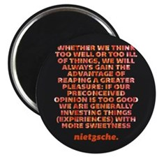 "Think Too Well 2.25"" Magnet (10 pack)"