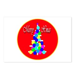 Merry Christmas Modern Christ Postcards (Package o