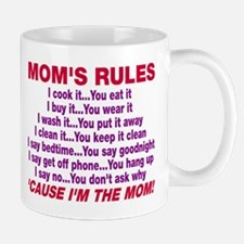 Mom's Rules Mug