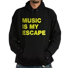 Music Is My Escape Hoodie