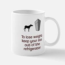 Keep ass out of fridge Mug