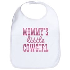 Mommys Little Cowgirl Bib