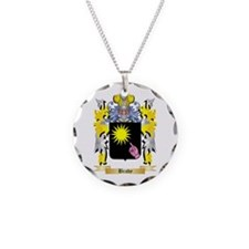 Brady Necklace Circle Charm