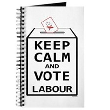 Keep Calm and Vote Labour Journal
