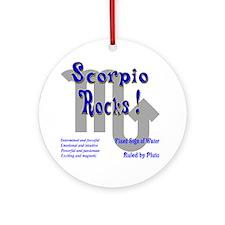Scorpio Rocks ! Ornament (Round)