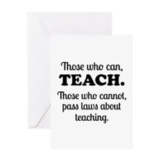 TEACHERS Greeting Card