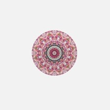 Messed up Sunset kaleidoscope Mini Button