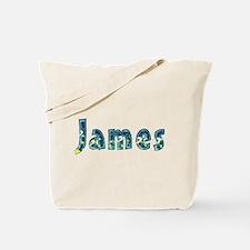 James Under Sea Tote Bag