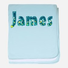 James Under Sea baby blanket