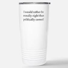 Anti Obama politically correct Travel Mug