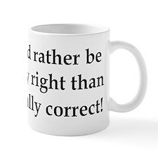 Anti Obama politically correct Mug