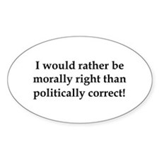 Anti Obama politically correct Decal