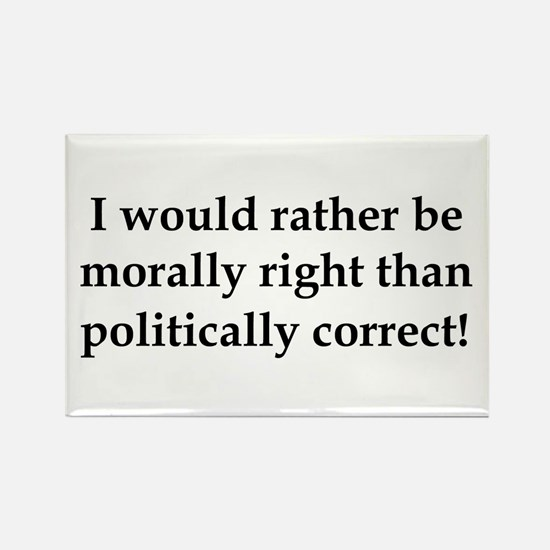Anti Obama politically correct Rectangle Magnet (1