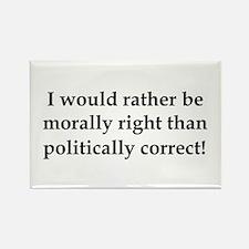 Anti Obama politically correct Rectangle Magnet