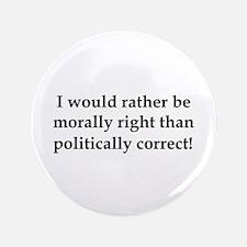 "Anti Obama politically correct 3.5"" Button (100 pa"