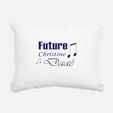 Future Christine Daae Rectangular Canvas Pillow