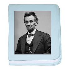 Abraham Lincoln Infant Blanket