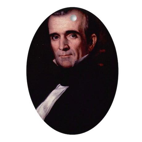 James Polk Ornament (Oval)