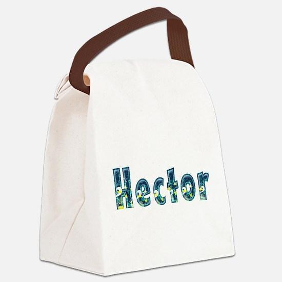 Hector Under Sea Canvas Lunch Bag