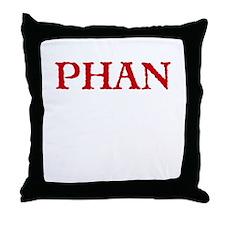 Phantom Phan Throw Pillow