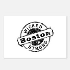 Boston Wicked Strong Postcards (Package of 8)