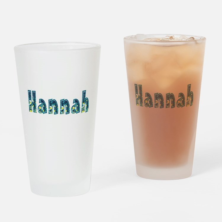 Hannah Under Sea Drinking Glass