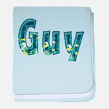 Guy Under Sea baby blanket