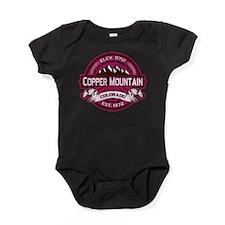 Copper Mountain Raspberry Baby Bodysuit