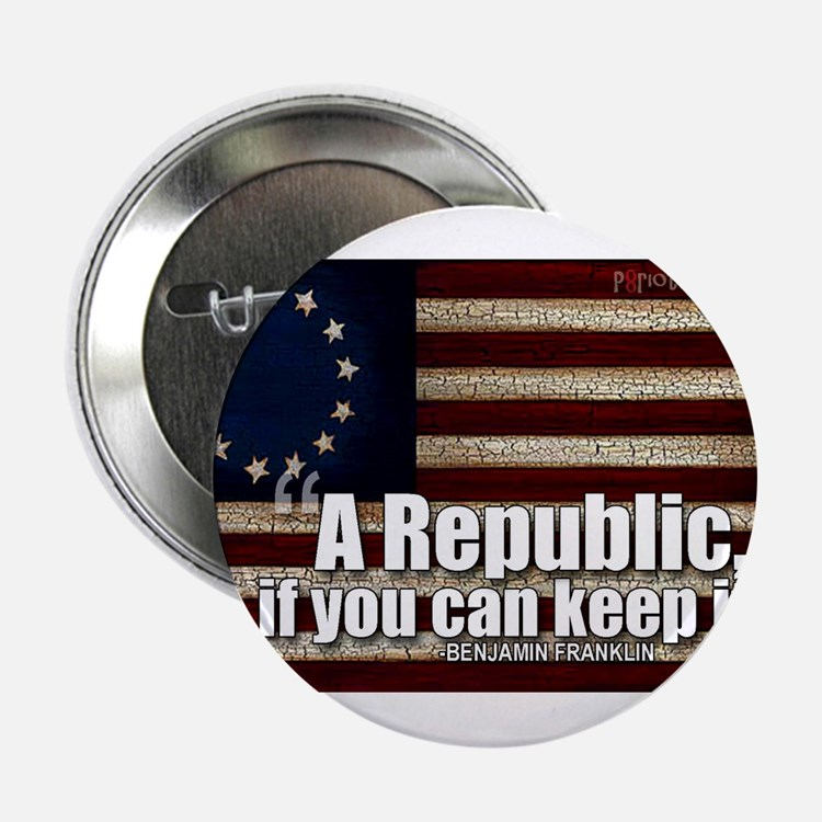 "A Republic 2.25"" Button"
